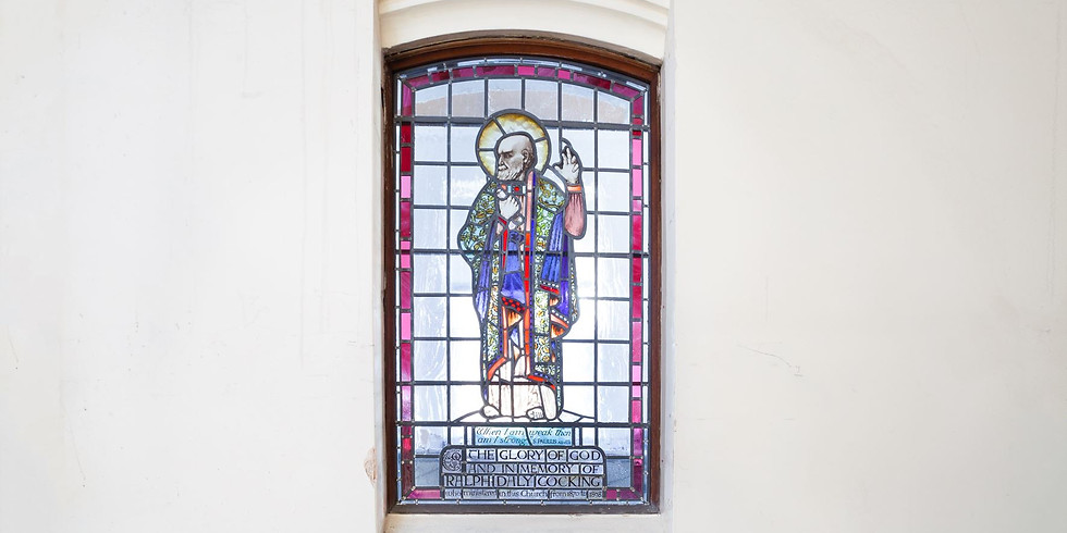 HERITAGE TOUR: Preachers, Pews and Stained Glass