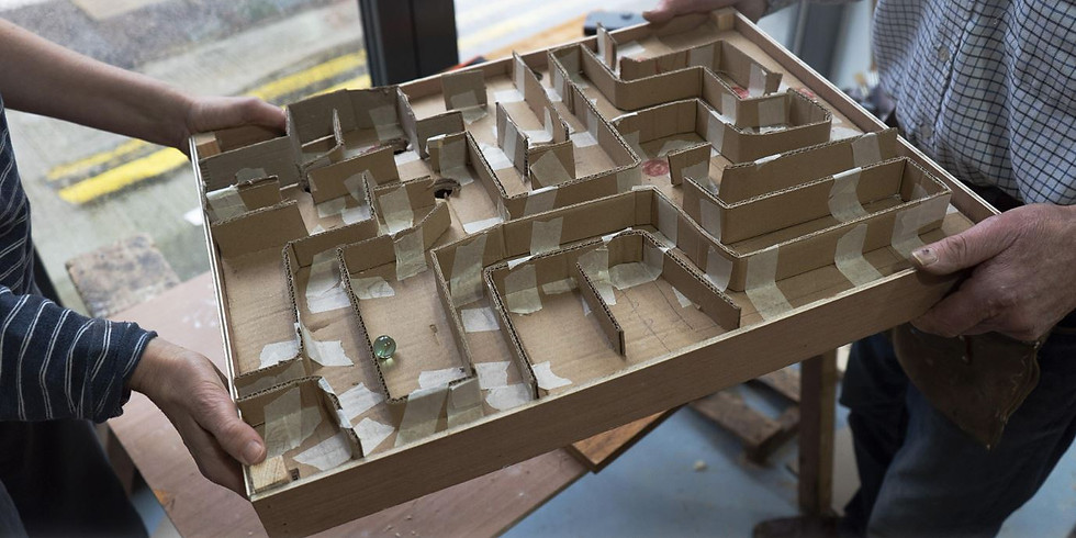 Workshop: Make your own Marble Labyrinth Game