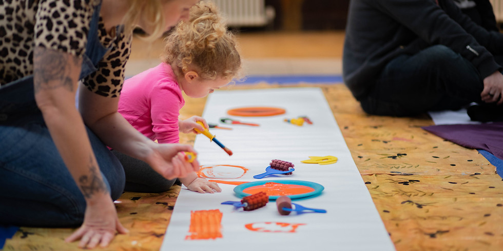 WORKSHOP: Messy Play at Fabrica