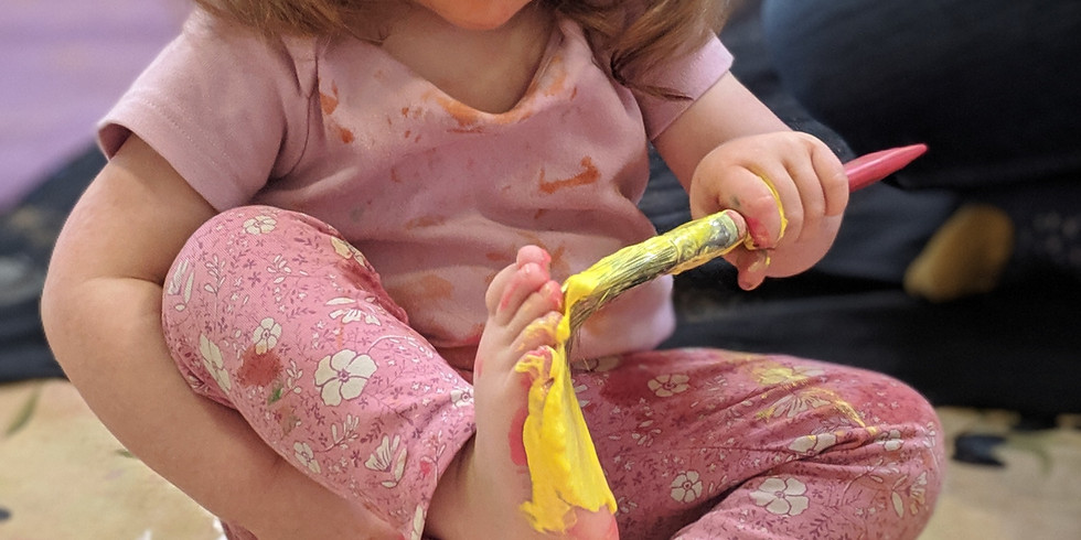 Messy Play at Fabrica