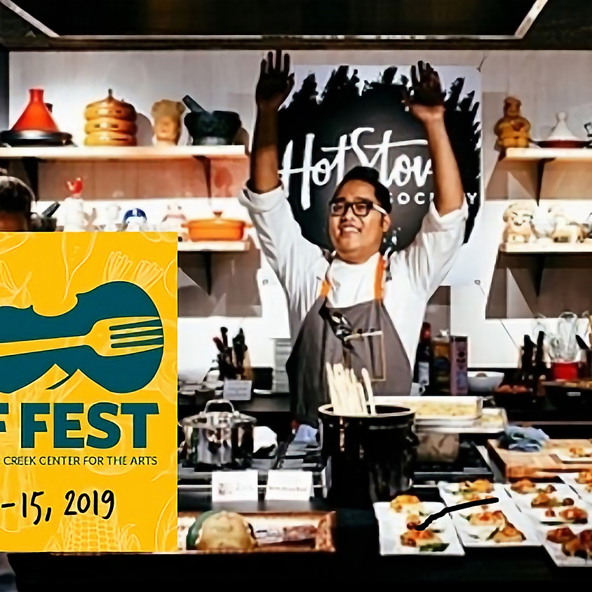 Chef FEST and Hot Stove Society Night @  Silvara Cellars