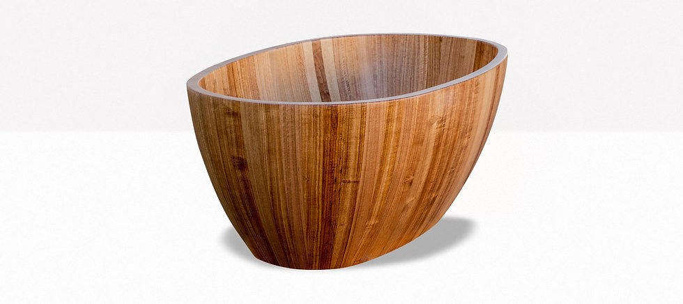 wooden free standing bath, free standing bathtub, bathroom ideas 2019, bathroom designs 2019, bathroom products australia