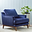 Australian Made Armchair Ridley by Momic. Velvet armchair, armchair expert, living room ideas, hamptons style lounge room