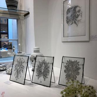 Solo-Exhibition at Gallery 'Kunst und Eros', Dresden, 2018