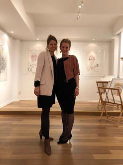 Janett Noack, Gallery owner 'Kunst und Eros' and Fides Linien