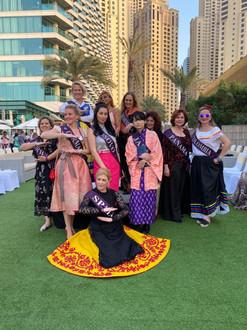 'Art Connects Women' Fashion Show, Dubai, 2020