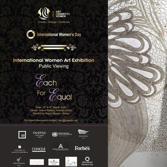Art Connects Women International Women Art Exhibition, Dubai 2020