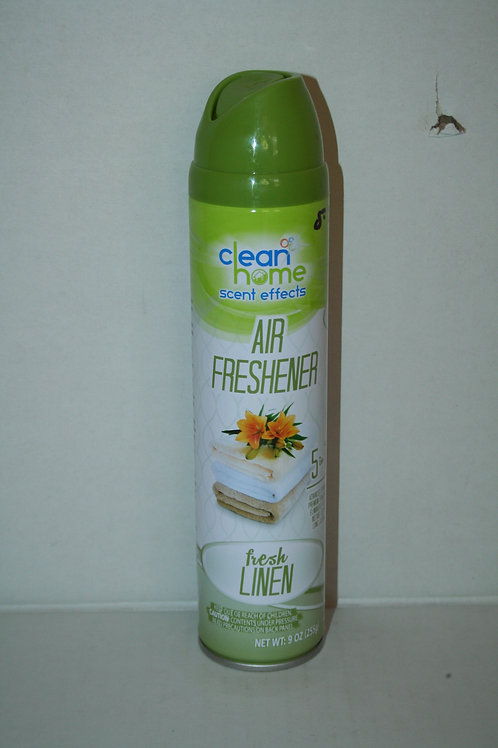 Clean Home Scent Effects Air Freshener 5 in 1 Fresh Linen9oz
