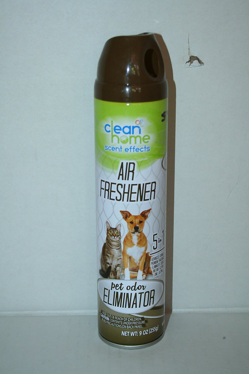 Clean Home Scent Effects Air Freshener 5 in 1 Pet Odor Elimenator  9oz