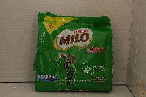 Nestle Milo 540g Contains 18 Sticks
