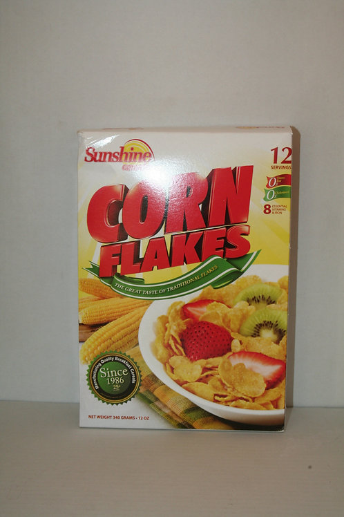 SunShine Cereals Corn Flakes 12oz