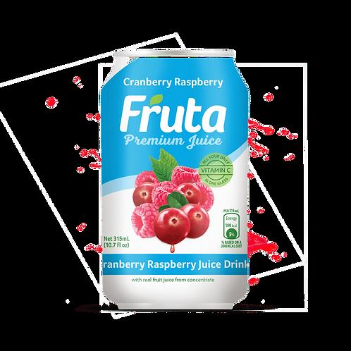 Fruta Premium Juice Cranberry Raspberry 315ml