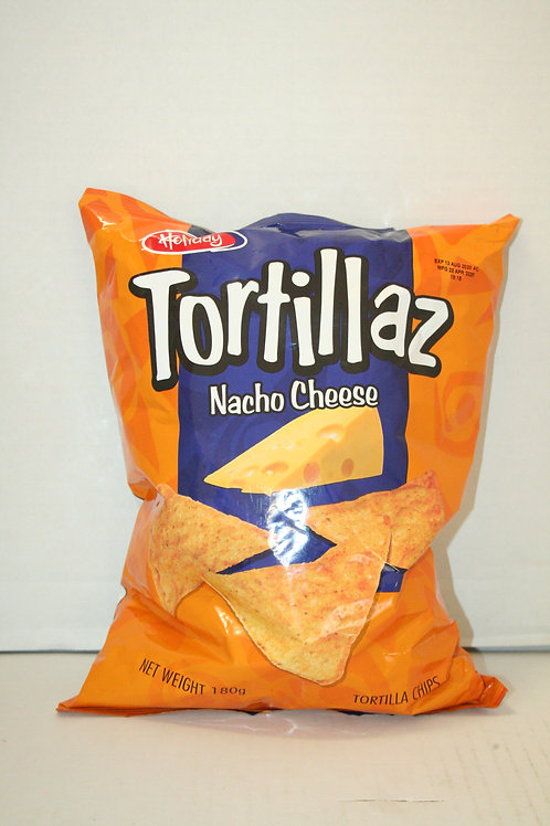 Tortillaz Chips Nacho Cheese 180g