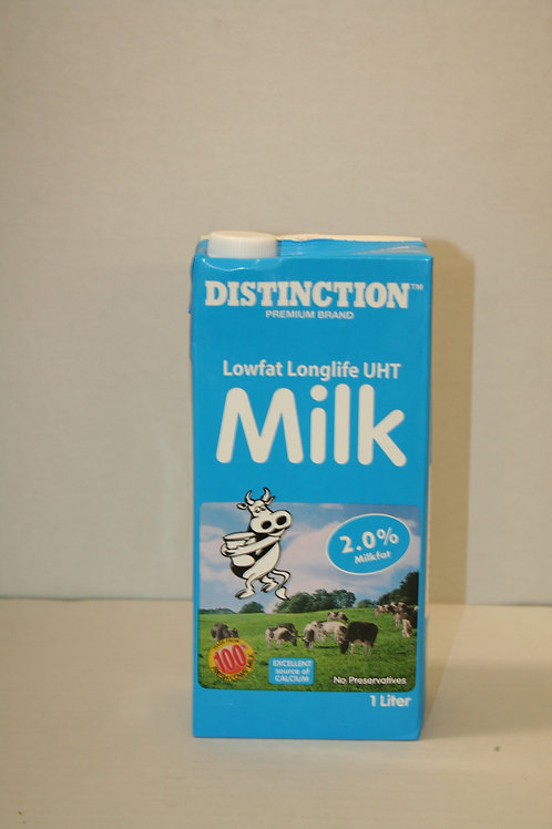 Distinction LowFat LongLife UHT Milk 2.0 Milkfat 1LT