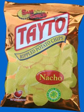 SunShine Tayto Rippled Potato Chips Nacho 35g