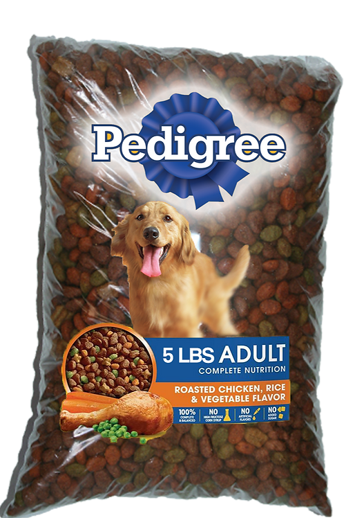 Pedigree Dog Food 5Lb