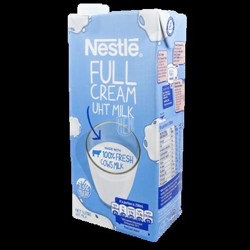 Nestle Full Cream UTH Milk   1LT