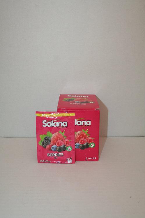 Solana Berries Juice Mix 24x10g