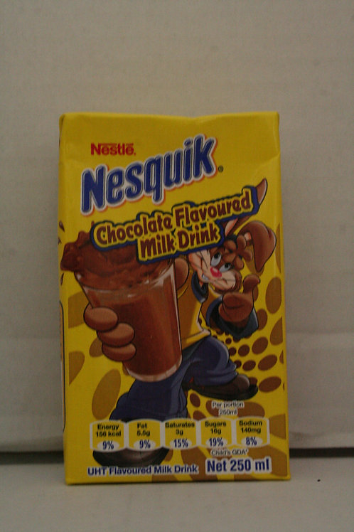Nesquik Chocolate Flavoured Milk Drink 250ml