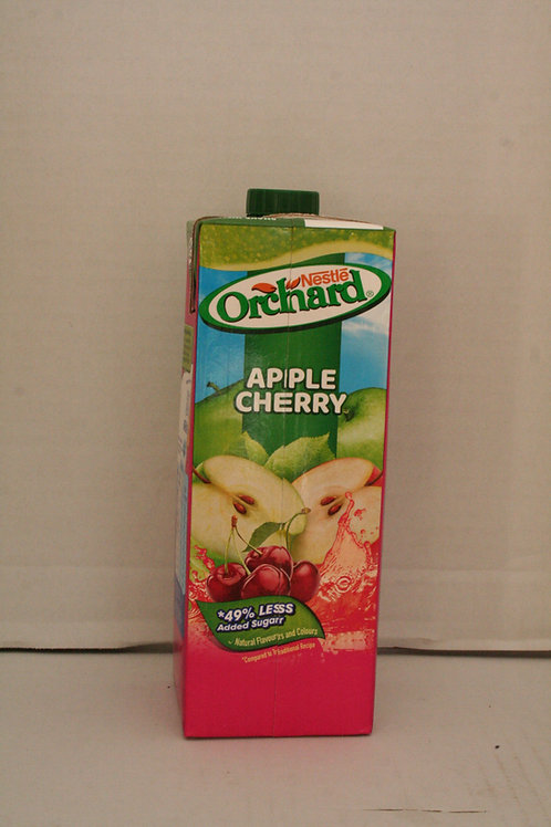 Orchard Nestle Apple Cherry Drink  1LT