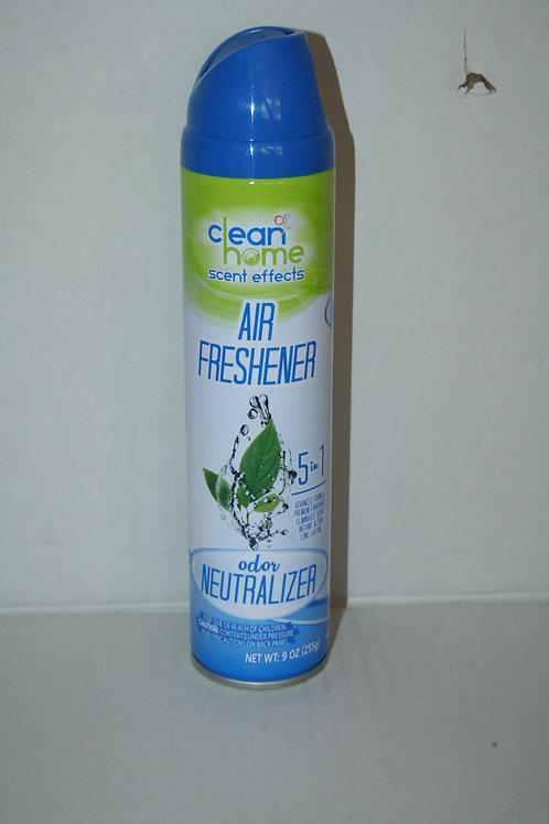 Clean Home Scent Effects Air Freshener 5 in 1 Odor Neutralizer 9oz