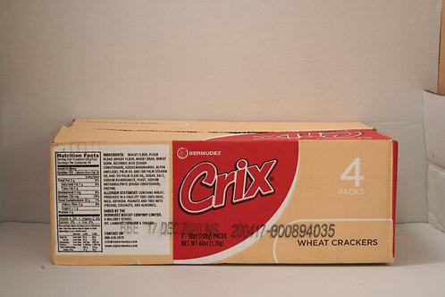 CRIX Wheat Crackers 4 Pack