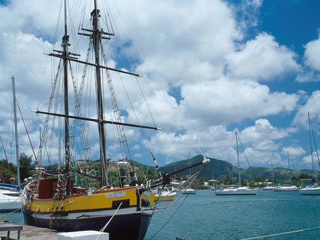 Antigua's UNESCO World Heritage Site...
