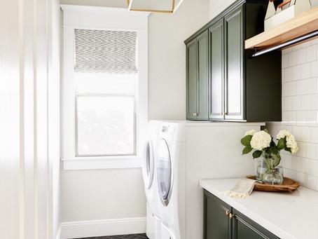 Park Grove Remodel: Laundry + Powder Bath