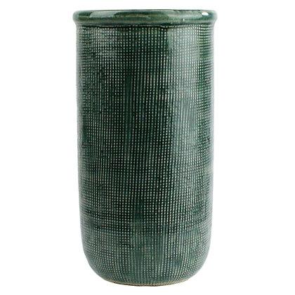 Grid Pattern Vase