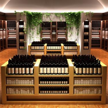 loja de vinhos
