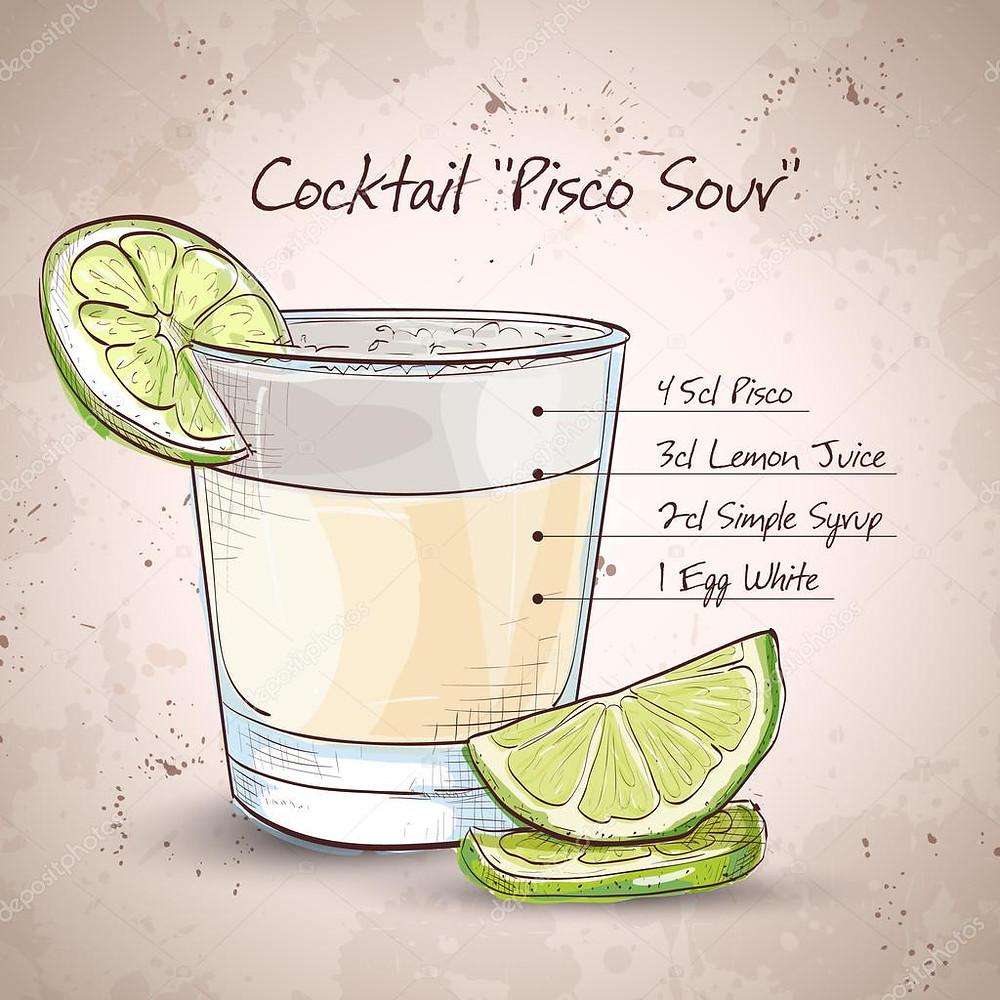 Cocktail Pisco Sour