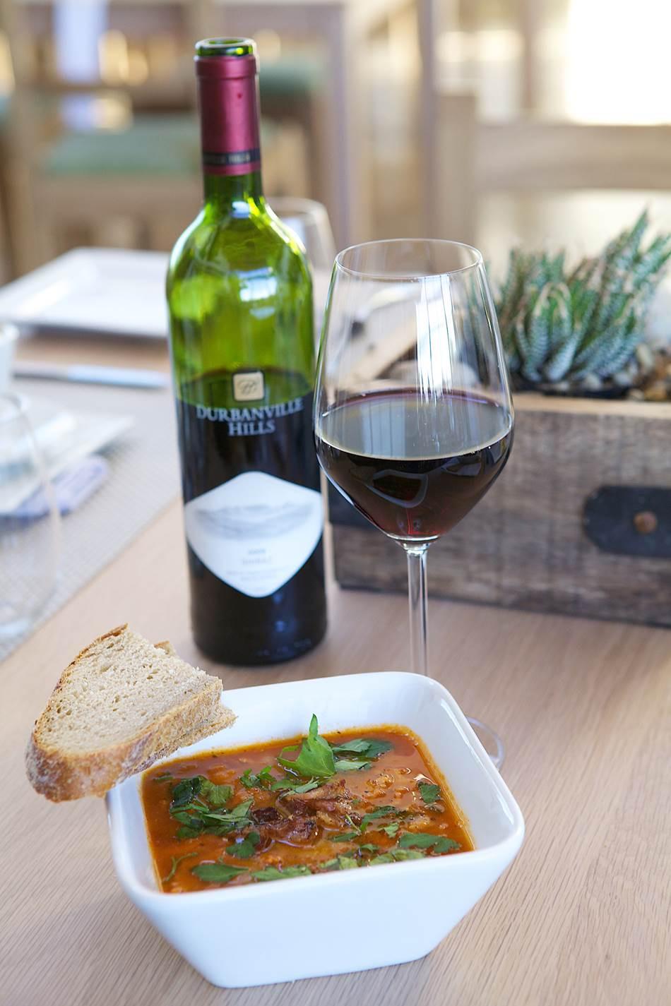 Sopa de Tomate e Vinho