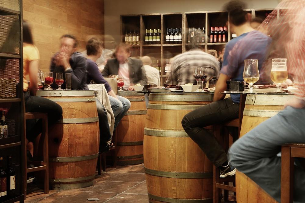 Conversa sobre vinho