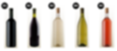 modelo de garrafa de vinho