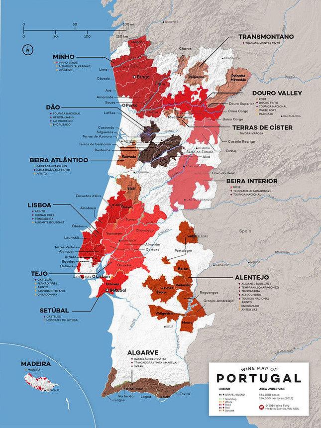 RegiõesVinícolas de Portugal