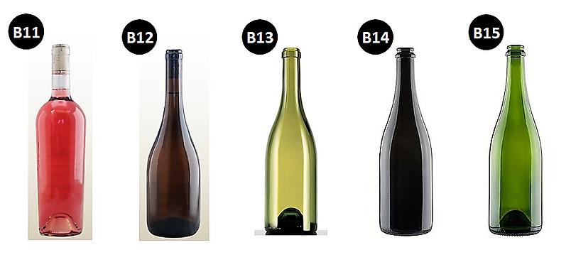 modelo de garrafa de vinho 3