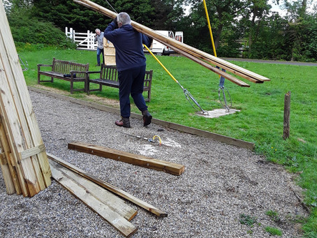 High Ropes Shelter Update