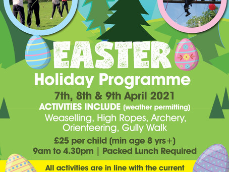 Easter Holiday Programme