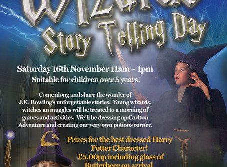 Wizards Story Telling Day!