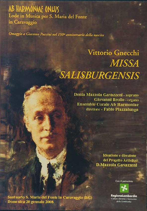 Denia Mazzola Gavazzeni Missa Salisburgensis Vittorio Gnecchi