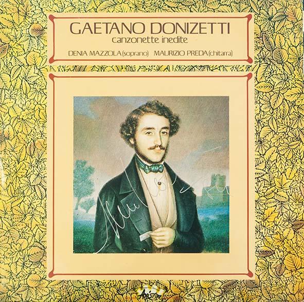 Denia Mazzola Gavazzeni canzonette inedite Gaetano Donizetti
