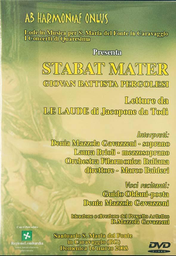 Denia Mazzola Gavazzeni Stabat Mater Ab Harmoniae Onlus Pergolesi