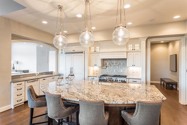 kitchen pendant lighting - kitchen recessed lighting