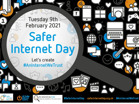 SAFER INTERNET DAY 2021 IN YEAR 4