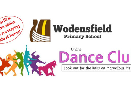 Join our online Dance Clubs!
