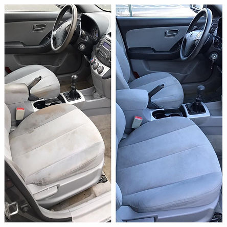 interior detailing before and after pictures