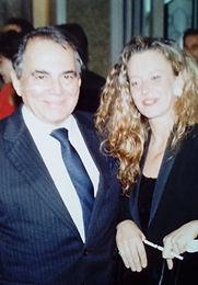 A esquerda Dr. Ivo Pitanguy e ao seu lado Dra. Maria Inès Fernandez