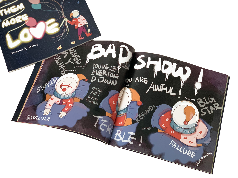 Mockup of Children's book