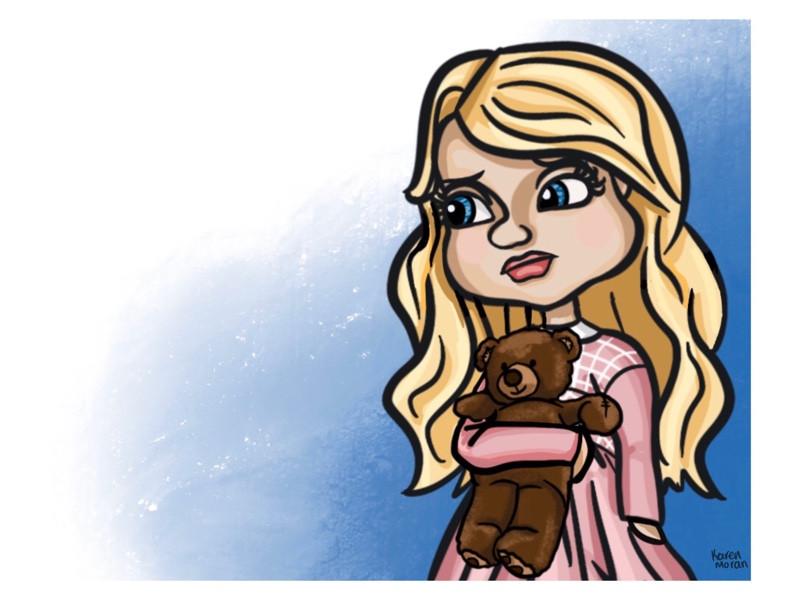 Blair & Teddy Bear Are Sad