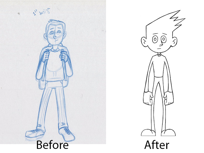 Kid: Before and After